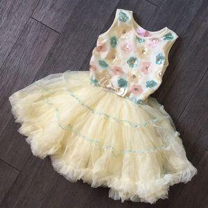 Girls summer tutu dress 6x/7 popatu